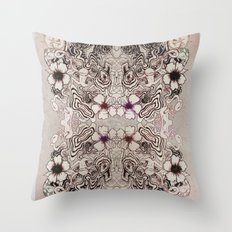 Entangled Bouquet Throw Pillow