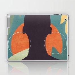 Tropical Girl 17 Laptop & iPad Skin