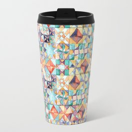 watercolour quilt Travel Mug