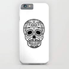 Mexican Skull - White Edition iPhone 6s Slim Case