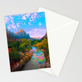 Flowing With The River Stationery Cards