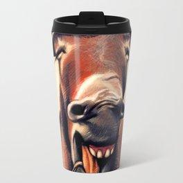 Happy Donkey Travel Mug