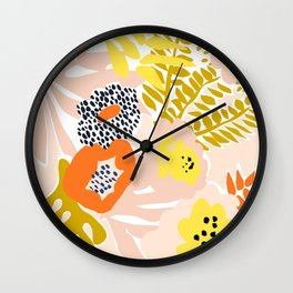 More design for a happy life 2 Wall Clock