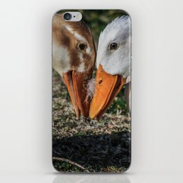 Dueling Duckies iPhone Skin