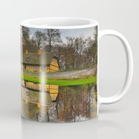 denmark Mugs featuring Autumn in Denmark by Jeff Umotoy
