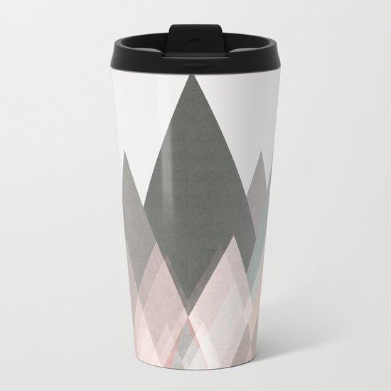 pastel plateau Metal Travel Mug