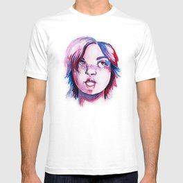 Purpe Girl T-shirt
