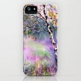 Idyllic Meadow iPhone Case