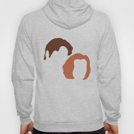 Mulder and Scully, X-Files Hoody