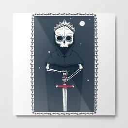 Lich King Metal Print