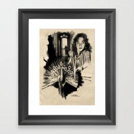 Homage to Suspiria Framed Art Print