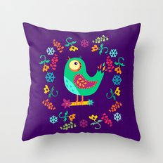 Birdy II Throw Pillow