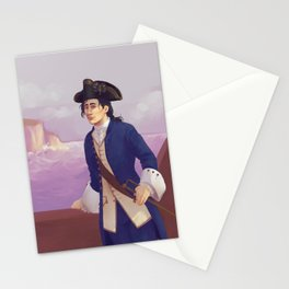 Lieutenant Haytham Kenway Stationery Cards