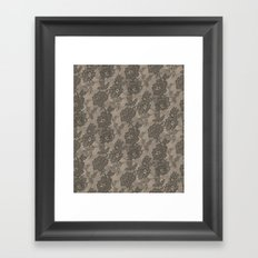 VINTAGE LACE I Framed Art Print