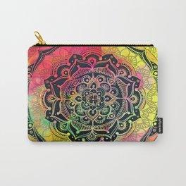 Rainbow Mandala Carry-All Pouch