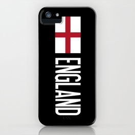 England: English Flag iPhone Case