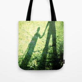 SON AND FATHER Tote Bag