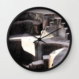 Swimmingpool without Water Wall Clock