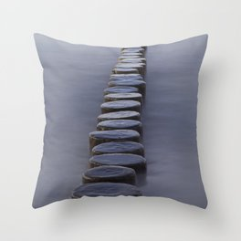 Groyne Throw Pillow