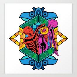 Ascension - Chakra Overload Color Variant Art Print