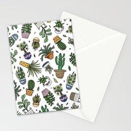 house plant palooza Stationery Cards