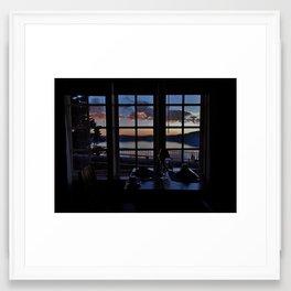 Dining at Crater Lake NP Framed Art Print