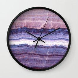 Azul marble Wall Clock