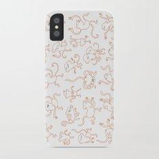 monkey dance iPhone X Slim Case