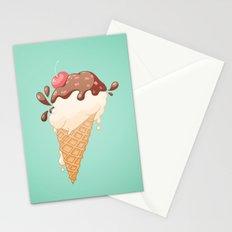 Summer Icecream Stationery Cards
