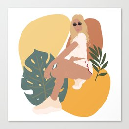 Summer Girl Canvas Print