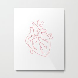 I'll Give You My Heart Metal Print