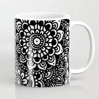 zentangle Mugs featuring Zentangle by Patricia Silveira