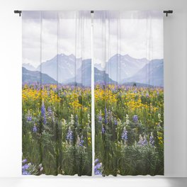 Waterton Wildflowers Blackout Curtain