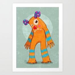 Monster-02 Art Print