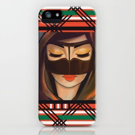Burqa Beauty iPhone Case