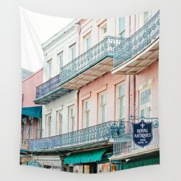 French Quarter, New Orleans Travel Photography Wall Tapestry