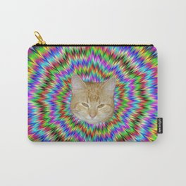Dizzy Cat Abstract Carry-All Pouch