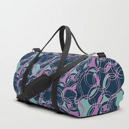 Water Circles #society6 #pattern Duffle Bag