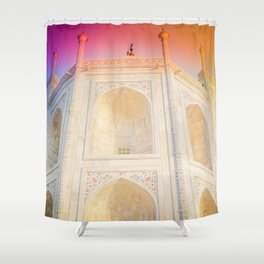 Morning Light at Taj Mahal Shower Curtain