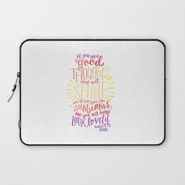 You Will Always Look Lovely [Roald Dahl] Laptop Sleeve
