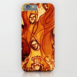 Macbeth Witches - Shakespeare Folio Illustration Art iPhone Case