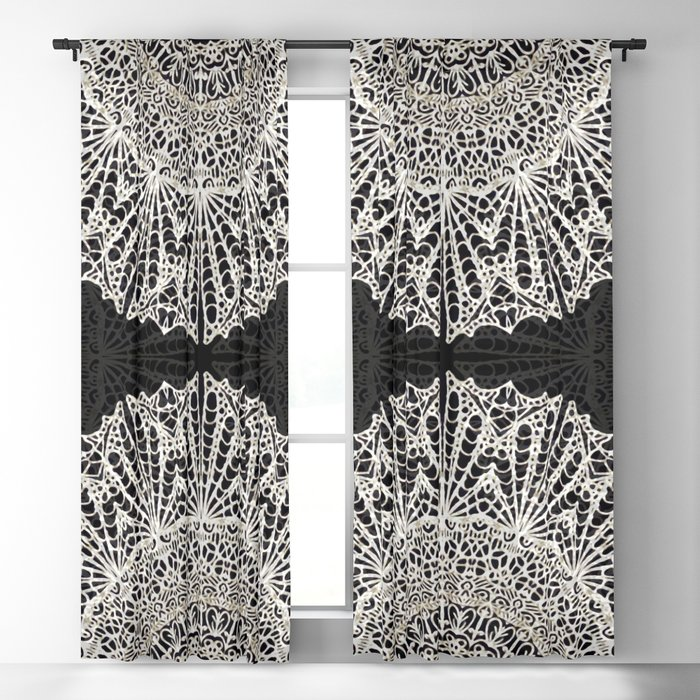 Mandala Mehndi Style G384 Blackout Curtain