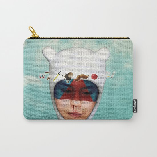 adventurous mind  Carry-All Pouch