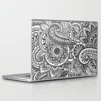 paisley Laptop & iPad Skins featuring Paisley by Emma Lin