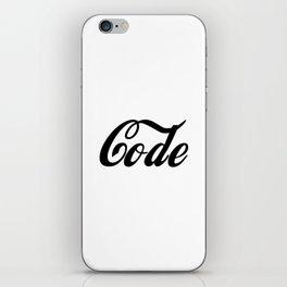 Coca Code iPhone Skin