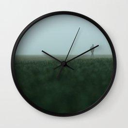 Leaving Wall Clock