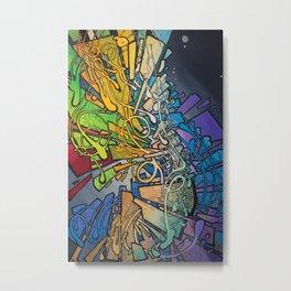 Spectrum, Sweep Metal Print