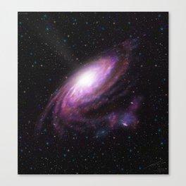Rosea Galaxy Canvas Print