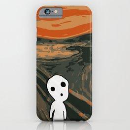Kodama Scream iPhone Case