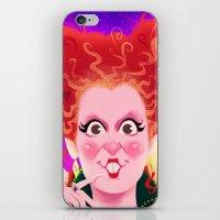 hocus pocus iPhone & iPod Skins featuring Sanderson Sistaahs! - Hocus Pocus by Dylan Bonner